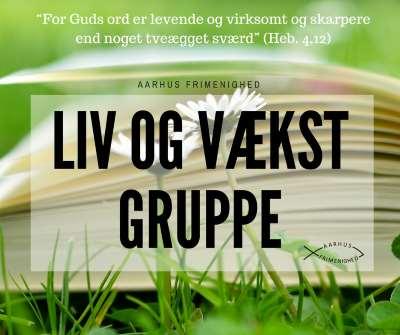 Liv og vækst grupper - Aarhus Frimenighed