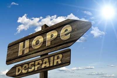 Skilt håb fortvivlelse - Aarhus Frimenighed