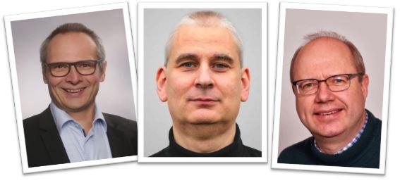Karlo Brondbjerg, Karsten Pultz, Klaus Dahl - talere ved konference